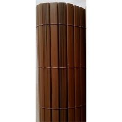 Canisse PVC imitation noyer