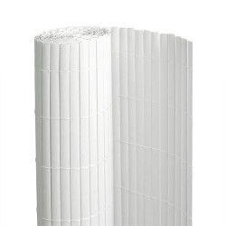 Canisse en PVC blanc - 90% d'occultation