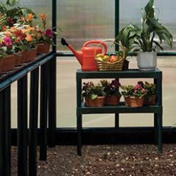 Retrouvez dans cette rubrique tous les accessoires et équipements pour serre tunnel. Aménagez votre serre de jardin grâce à nos tables et étagères. Protégez vos cultures avec un filet d'ombrage. Ou encore, maintenez une température de culture constante et idéale en installant un chauffage pour serre et en isolant ses parois.
